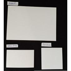 Třecí papírky KAVITAN 50 x 80mm/50 listů bloček