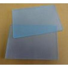 Třecí destička skleněná 75x110x 4 mm
