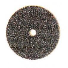 Brousící a řezací kotouč, černý papírový brusný smirk 150, Ø19 (100 ks)