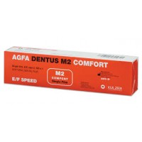 RTG film AGFA DENTUS M2 COMFORT 2x3cm, 100 ks