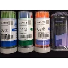 Microbrush - apply brush CENTRA - aplikátory na bondy , adheziva 100 ks