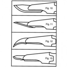 Skalpel jednorázový sterilní 10 ks CUTFIX BBRAUN