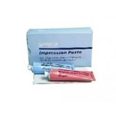 IMPRESSION PASTE S.S. white 150 g bílé zinkoxid pasty v tubě a 60 g červené eugenolové pasty v tubě