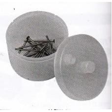 BUR STERI-BATH na vrtáčky plastový bílý průměr 88mm, h=68mm
