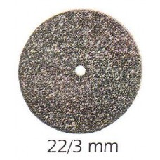 Brousící kotouč šedý na tvrdé kovy  Ø22/3 mm (1 ks jednotlivě) MIZZY HEATLESS