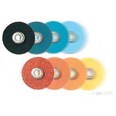 SOF-LEX (50 ks), leštící disky modré  různé hrubosti