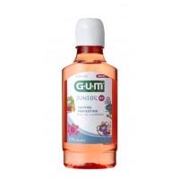 GUM Junior ústní voda pro děti s fluoridy + CPC 0,07 %, 300 ml