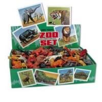 AKCE do 30.6.2021 MIRATOI č.4  ZOO set zvířátka  100 ks